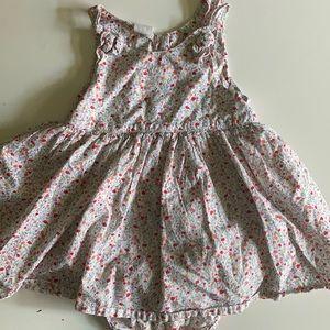 Sweet floral spring/summer dress (12-18 months)